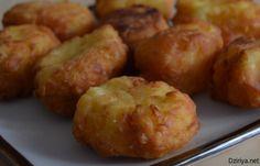 Croquettes de pommes de terre coeur de fromage