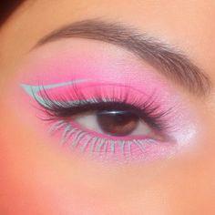this 𝕓𝕒𝕓𝕪 pink look is *chef's kiss* ❄️🎀✨wearing Cloud Spun palette, Pretty Fresh concealer + Boots' creme gel liner + 'Zulu' creme gel colour - @harbsy - #colourpop #colourpopme Soft Eye Makeup, Bold Makeup Looks, Pastel Makeup, Eye Makeup Art, Cute Makeup, Eyeshadow Makeup, Beauty Makeup, Makeup Eyes, Creative Makeup Looks