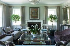 Chicago Penthouse | Living Room - traditional - Living Room - Chicago - A. Perry Homes