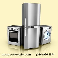 If you have any doubts or questions about how to install your appliance safely, don't hesitate to call us at Marbec Enterprises so we can make sure that your installation goes off without a hitch. College Park, FL | (386) 956-1594 | marbecelectric.com | twitter.com/MarbecElectric | marbecelectric.tumblr.com | plus.google.com/102338195995648896384/posts?hl=en