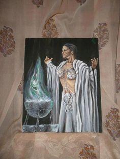 L'Oracolo - Acrylic on canvas - Francesca Ruggeri