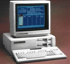 Tandy 1000sx. My first computer.