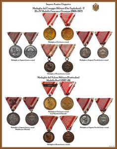 I NOSTRI AVI • Leggi argomento - Tavole ordini AUSTRIA-UNGHERIA (Nuove) Austrian Empire, Austro Hungarian, Emblem, Form, Badges, Awards, Military, Victorian, Military Insignia