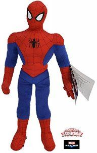 """The Official Ultimate Spiderman Superhero 17.5"""" Plush Soft Toy With Sounds: Amazon.co.uk: Toys & Games"""