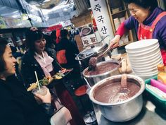 seoulmagazine:   The Tongin Market at lunchtime,... | Robert Koehler Travel Photography