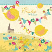 By Poppy Davies Easter-Chicks-and-bunting