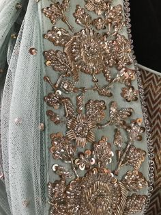 Intricate embroideries #priyankaraajiv #embroidery #details #indianwear #bridalwear #embellishments #textileart #craft #indiancraft #indianwear