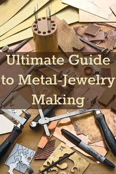 Learn how to make metal jewelry the right way with this exclusive guide on filing, sawing and other #metalsmithing basics! #metaljewelry #jewelrymaking #diy