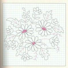 Daisy embroidery