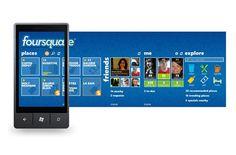 Foursquare Windows Phone App
