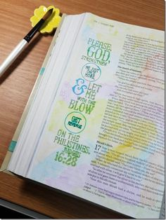 My Weekly Bible Journaling #20 | Paulette's Papers  Book of Judges