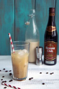 Iced Coffee Rum Kicker | 26 Coffee Cocktails That Will Put Hair On Your Chest