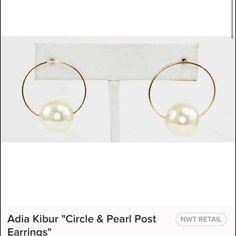 Earrings coming soon  Beautiful pearl and hoop post earrings. Gold color Jewelry Earrings