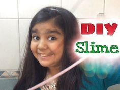 How To Make Slime // Without Borax, Liquid Starch Or Laundry Detergent - YouTube