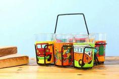 Handpainted Tapri Glasses :-  #amazing #hot #lifestyle #gifts #makeinindia #teacups #india #handmade #uniquegifts Know more - www.akrazymug.com