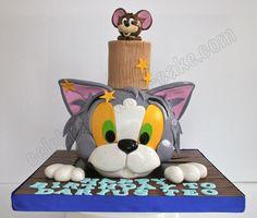LOVE this cat cake!