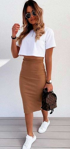 Winter Fashion Outfits, Casual Summer Outfits, Classy Outfits, Look Fashion, Spring Outfits, Trendy Outfits, Autumn Fashion, Female Fashion, Fashion Poses