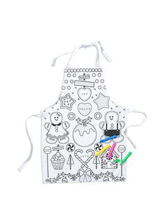 A Christmas gift for creative little ones // the apron art set! Christmas Makes, Family Christmas, Christmas Gifts, Christmas Eve, Best Stocking Stuffers, Stocking Fillers, Patch Shop, Pumpkin Patch Outfit, Christmas Catalogs