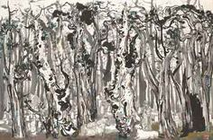 Always Be An Emerging Artist: My New Favorite Artist: Wu Guanzhong