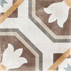 Sabik 60x60 cm.   Porcelain tile   arcana ceramica   arcana tiles #decorated #classic #floortiles #walltiles #outdoor #indoor #interiordesign Background Tile, Encaustic Tile, Style Vintage, Porcelain Tile, Wall Tiles, Stoneware, Concrete, Flooring, Indoor