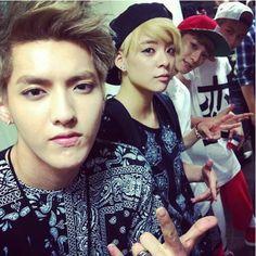 Kris, Amber (Fx), Chen & Baekhyun