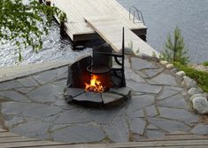 Outdoor Spaces, Outdoor Decor, Inside A House, Log Homes, Cosy, Beach House, Cottage, Cabin, Ark