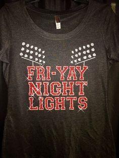 Friyay / Fri-yay / Bling shirt / glitter shirt / by AlphaBellaWear