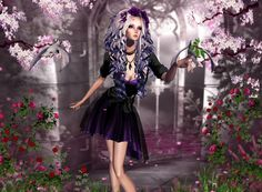 Look There! A cute picture of a charming character from IMVU