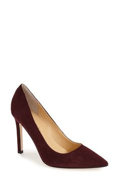 Free shipping and returns on Ivanka Trump 'Carra' Pump at Nordstrom.com. A square stiletto heel lends a modern, angular touch to a pointy-toe pump. A cushioned footbed keeps you comfortable all day—and all night.