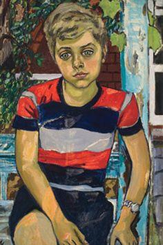 Alice Neel (Colwyn, Pennsylvania, 28 de enero de 1900 – 13 de octubre de 1984) fue una pintora retratista estadounidense. Sus pinturas destacan por su uso expresionista de la línea y del color, profundidad psicológica e intensidad emocional.