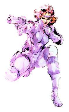 Metal Gear Solid: Meryl Silverburgh