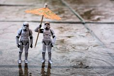 """""""Trooping in the rain"""" by Stefan  Stormtroopers 365 > Day 53/365"""
