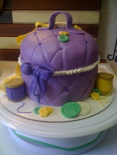 button ribbon birthday cakes | Custom Cake | candycakeslive