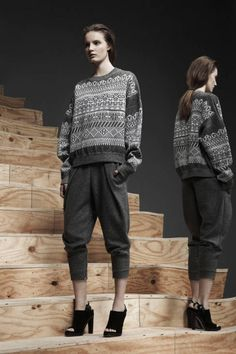 Sweater weather (Alexander Wang Pre-Fall 2013)