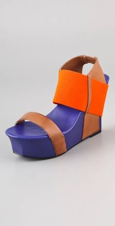 United Nude Geisha Colorblock Sandals- in stock at Solestruck!