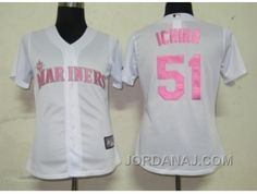 http://www.jordanaj.com/mlb-women-jerseys-seattle-mariners-51-ichiro-whitepink-number.html MLB WOMEN JERSEYS SEATTLE MARINERS #51 ICHIRO WHITE[PINK NUMBER] Only 16.96€ , Free Shipping!