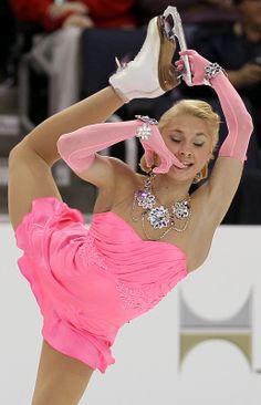 Pink Figure Skating / Ice Skating dress inspiration for Sk8 Gr8 Designs.