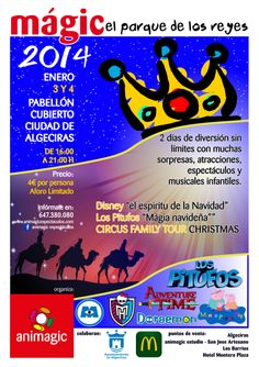 MAGIC 2014, nuestro Parque de Navidad en su 5ª Edición transformado en un Gran Parque de Reyes, más de 4.000 visitantes disfrutaron en los 2 dias de este festival que año tras año cobra más fuerza.