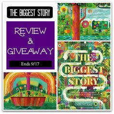 The Biggest Story was seriously one of the most brilliantly beautiful books I've ever seen! It is stunning! It is filled with bright colors, beautiful pictures, sturdy pages. Not too many words on each page, so it will hold the attention of even the smallest listener. Definitely going to be a great addition to our …
