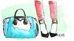 UN GRAZIE SPECIALE A TUTTE VOI - disegni #fashionblogger  www.scentofobsession.com