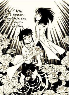 Yu Kanda and Alma Karma. Yea to depress all the fans :`-C