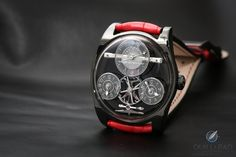 Funky Colors For Emmanuel Bouchet's Head-Turning Complication One