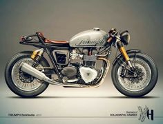 triumph bonville cafe racer - Google Search