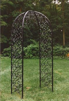 Black+Wrought+Iron+Arbor | Acadia Stairs, LLC | 73 Route 9, Suite 4 | Fishkill, NY 12524 | www ...
