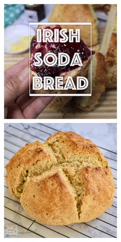 It doesn't require much effort to make this delicious Irish Soda Bread made even more flavorful with the addition of sweet raisins. Enjoy for tea time or with your coffee. Easy Gluten Free Desserts, Easy Desserts, Pavlova, Best Homemade Bread Recipe, Sauce Creme, Sauces, Soda Bread, Cheesecake Desserts, Pancakes And Waffles