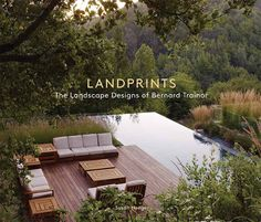 Successfully integrating landscape and nature. Landscape design by Bernard Trainor Outdoor Spaces, Outdoor Living, Outdoor Decor, Swimming Pool Designs, Swimming Pools, Hillside Garden, Cool Pools, Landscape Architecture, Landscape Designs