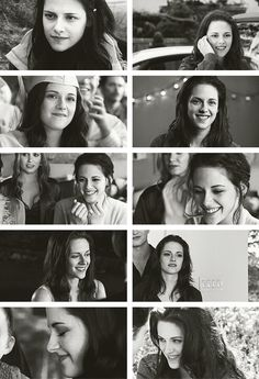 """""""Bella never smiles""""....umm, okay? Guess that's not true after all! ;-)"""
