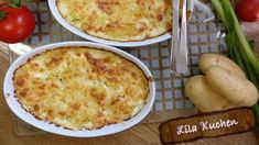 Kartoffel Gratin Auflauf - Rezept von Lila Kuchen Gratin Dauphinois Rezept, Snacks Für Party, Mashed Potatoes, Macaroni And Cheese, Ethnic Recipes, Chef, Food, Youtube, Purple Cakes