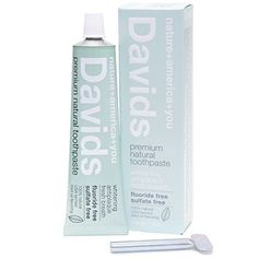 #Davids is a premium #natural toothpaste, made in California, with a focus on sustainability. Davids is simply the highest quality and best natural toothpaste ava...