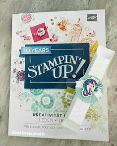stampin new catalog 2018 - 2019 with goodie treat
